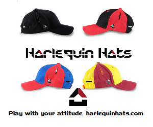 Harlequin Hats 300×250
